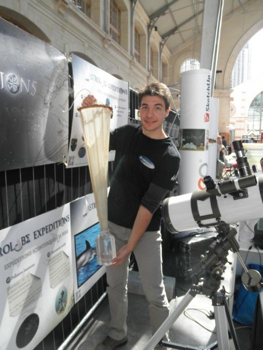 Maker Faire Paris, expéditions, Astrolabe