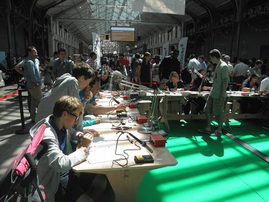 Atelier Soudure, Leroy Merlin, DIY, Maker Faire Paris
