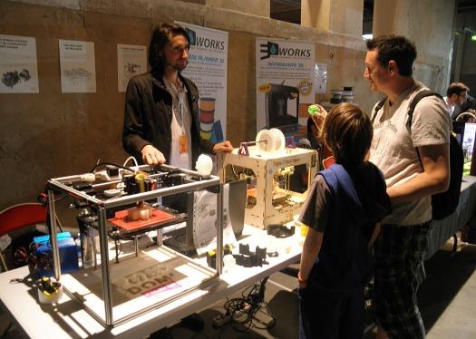 Maker Faire Paris, 3D Printing, digital object on demand