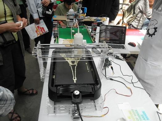 Maker Faire Paris, 3D Printing, Eiffel Tower