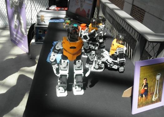 Maker Faire Paris, robot danseur, Evotion
