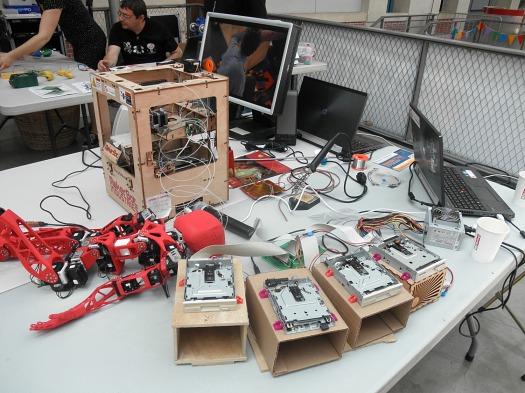 Maker Faire Paris, Robot musicien