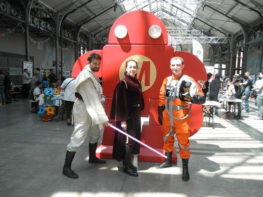 Maker Faire Paris, Robot