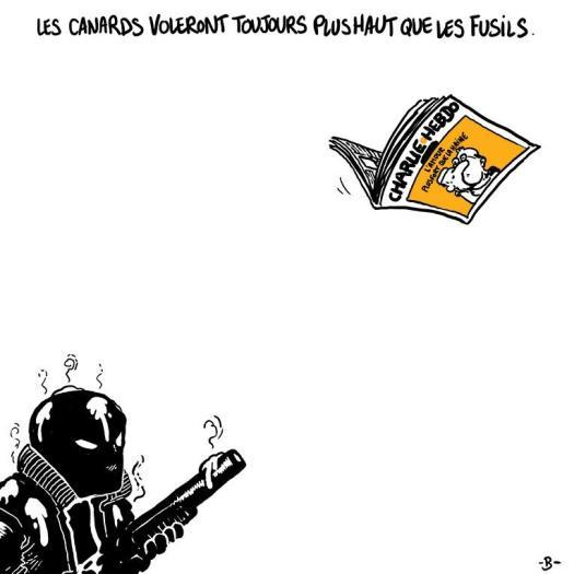Le dessinateur Boulet rend hommage aux morts de Charlie